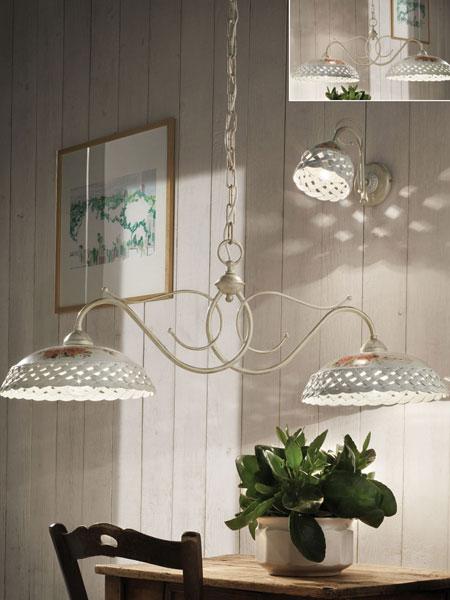 ferroluce lampadari catalogo : FerroLuce Lampada a Sospensione VERONA C971 BL - Vendita lampadari ...