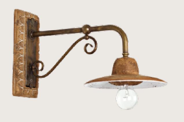 Toscot Lampada da parete SPOLETO 376 - Vendita lampadari online