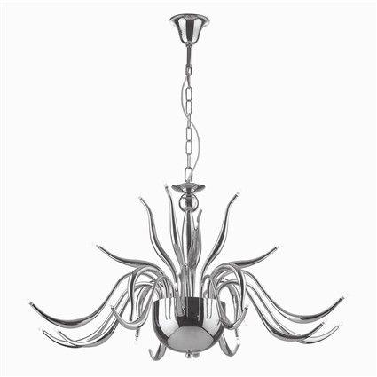 Ideal Lux Lampada a sospensione Elysee SP24 Cromo - Vendita lampadari ...