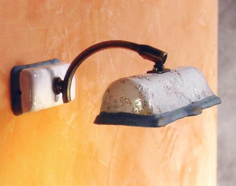 Plafoniere Da Parete Per Bagno : Toscot lampada da parete vinci