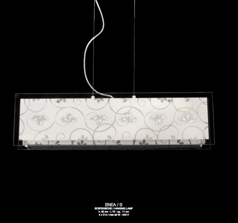 ferroluce lampadari catalogo : Contemporanea Lampada a Sospensione ENEA S - Vendita lampadari online