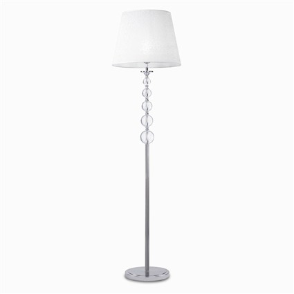 Ideal lux lampada da terra step pt1 bianco for Lampadari da tinello