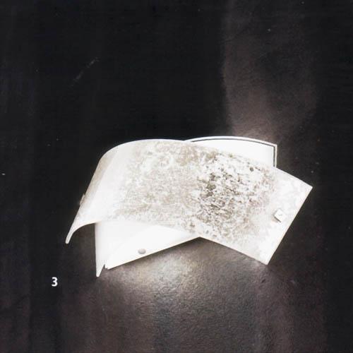Gea luce lampada da parete camilla a p - Applique moderne da parete ...