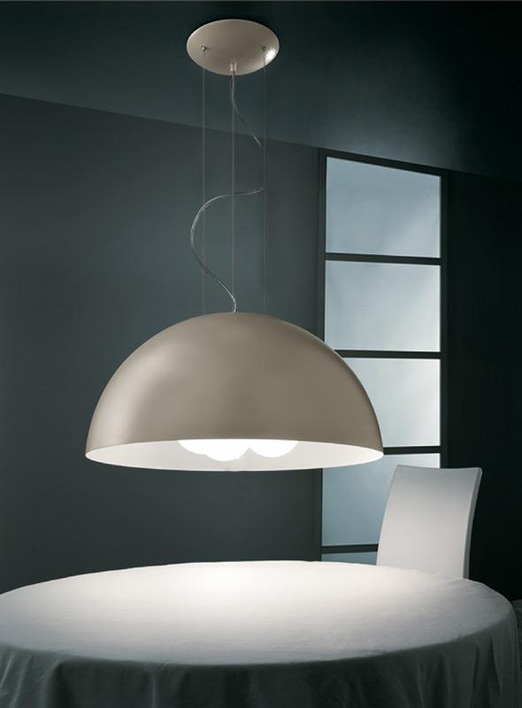 illuminazione lampadari : Gibas Illuminazione Lampada a Sospensione RUGIADA 122/26 int c60 ...