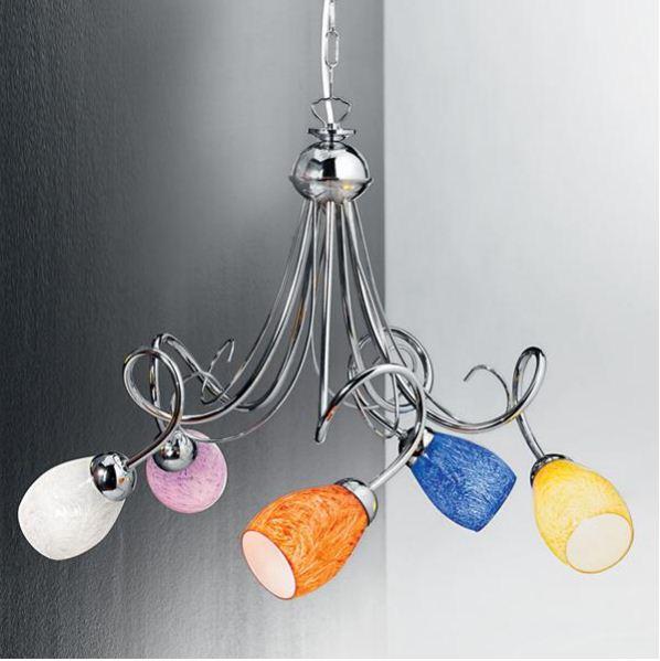 Duep sospensione mia s5 5luci for Ikea lampadario camera