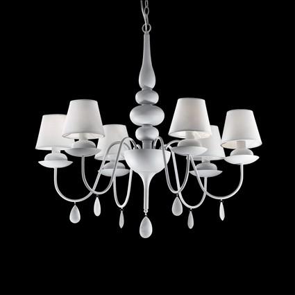 Ideal Lux Lampada a Sospensione BLANCHE SP6 - Vendita lampadari online