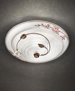 ferroluce lampadari catalogo : FerroLuce Lampada da soffitto CAPUA C1217 PL - Vendita lampadari ...