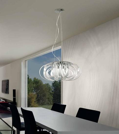 lampadari micron : Micron Illuminazione Lampada a Sospensione MAMA M6160-CWT - Vendita ...