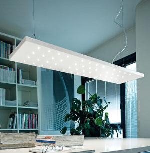 Illuminazione Da Soffitto Per Ufficio.Braga Illuminazione Lampada Da Soffitto Per Ufficio Cielo 2008 S30x120