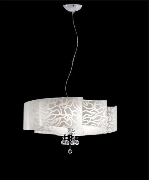 Contemporanea lampada a sospensione ventaglio s for Camera da pranzo contemporanea