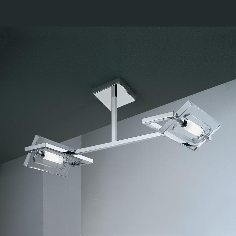 Micron Illuminazione Lampada a soffitto FLAT CRYSTAL M5250-CRC