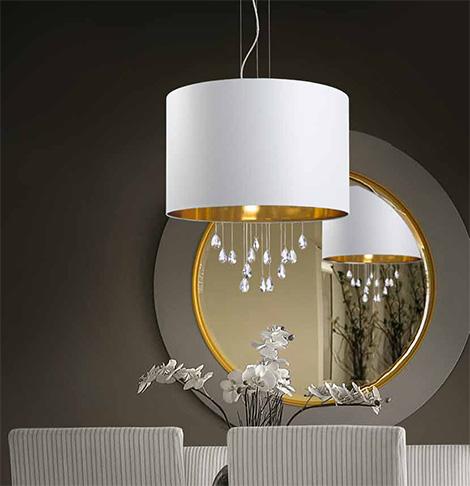 micron lampadari : 725 580 20 % aggiungi al carrello lampadario contemporaneo in tessuto ...