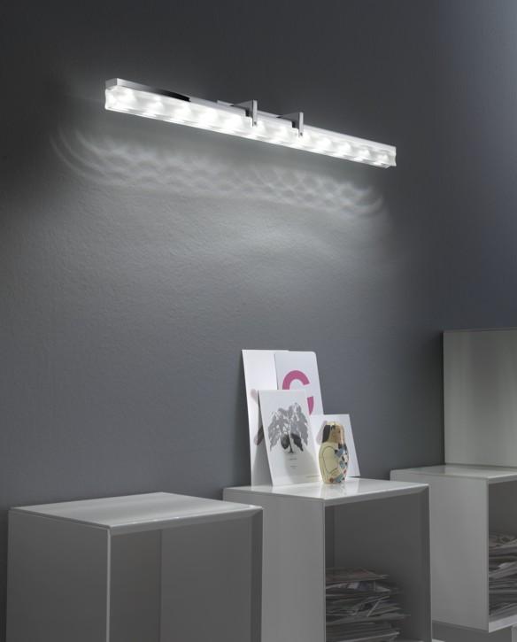 Elesi luce lampada da parete per specchio quadro aurora - Lampada per specchio ...