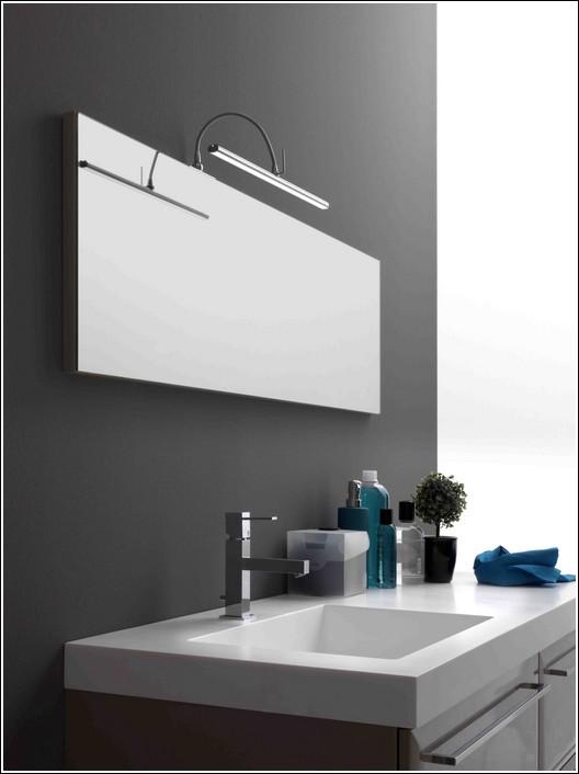 Elesi luce lampada da specchio look me 01200 l40 - Specchi per bagno moderni ...