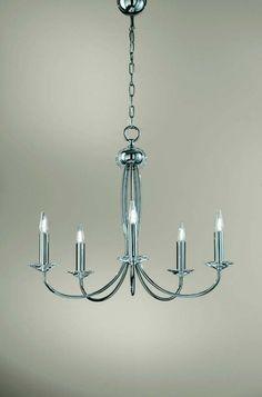 LAMPE LAMPADARIO BOLERO 5L. C/PARALUMI 3774 04 2AB