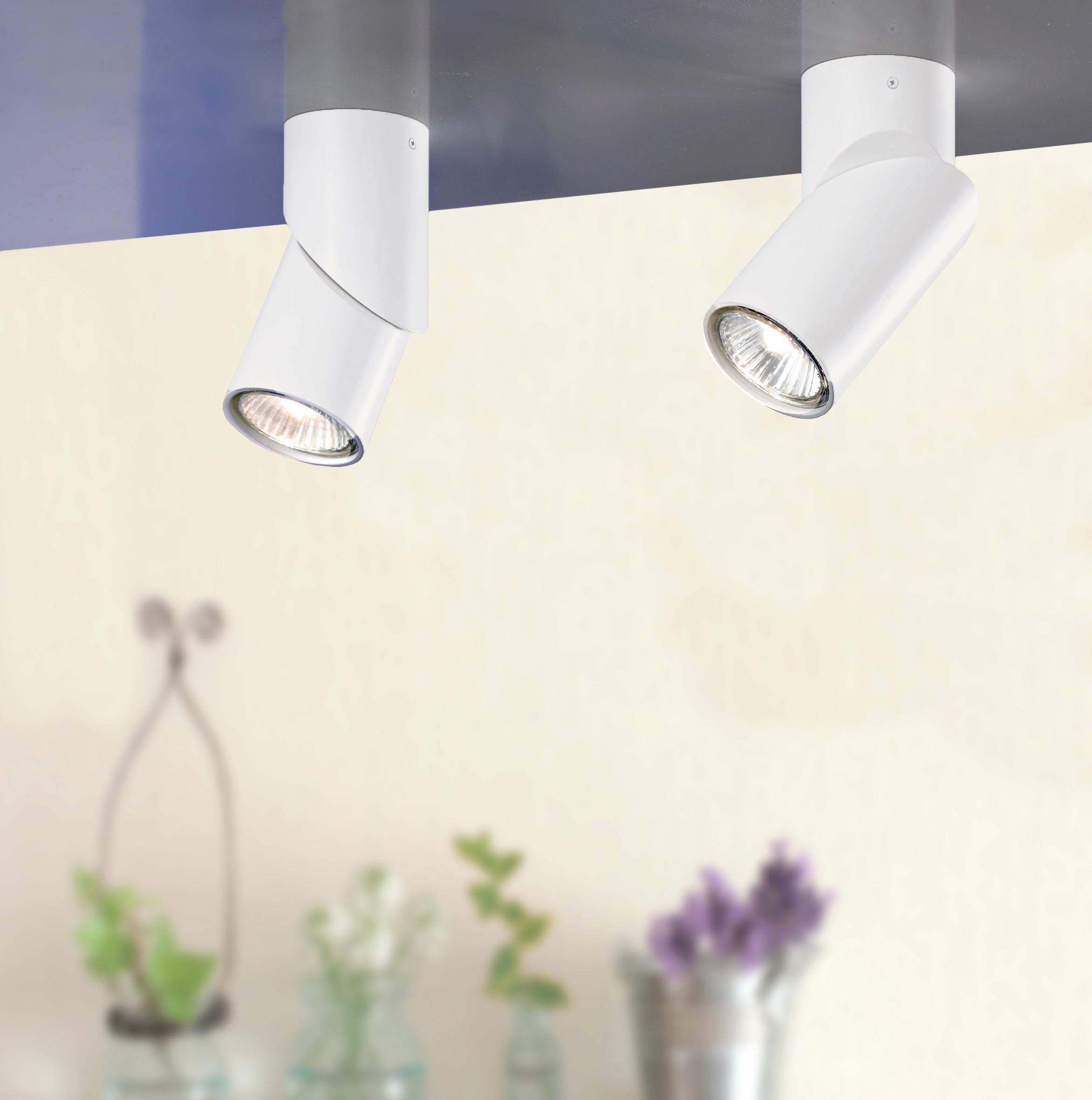 Sikrea lampada da parete e da soffitto link/p bianco   notali ...