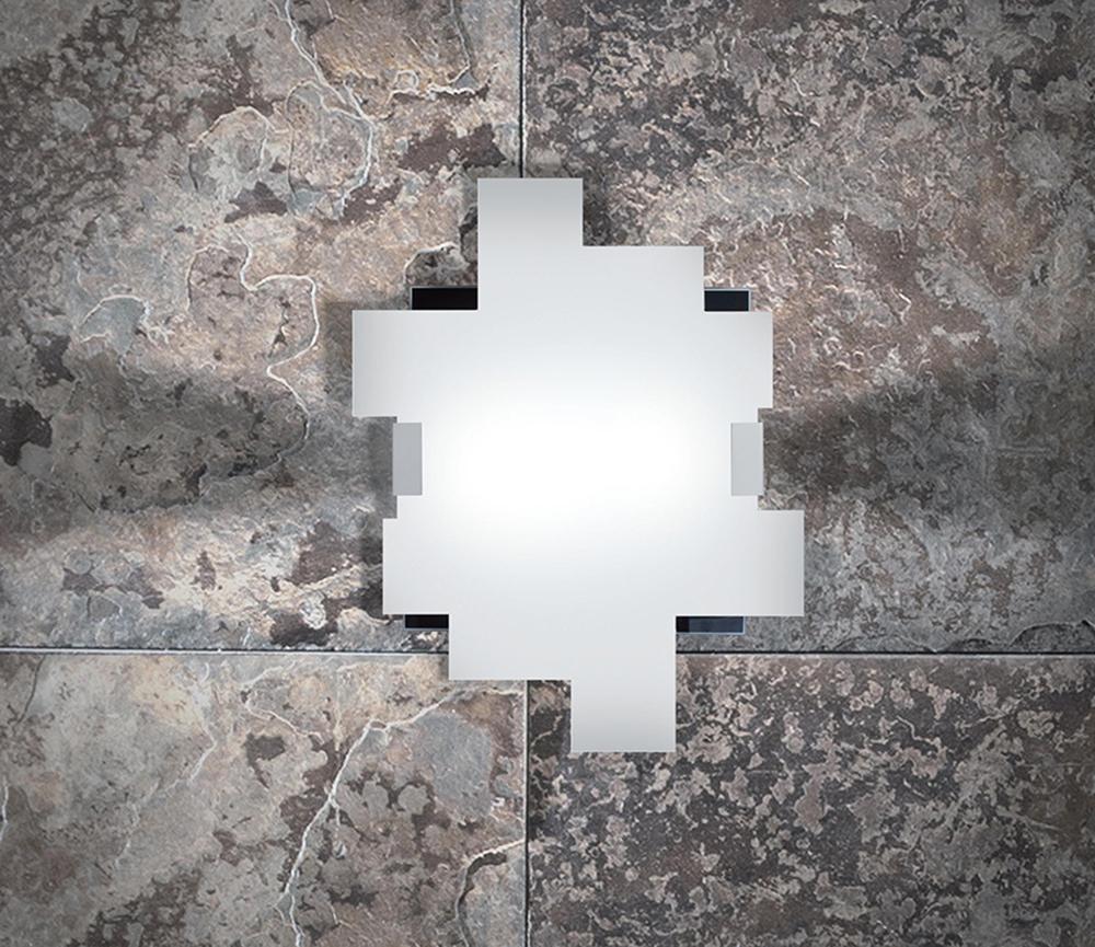 Sikrea lampada da parete e da soffitto agata/q55   notali lampadari