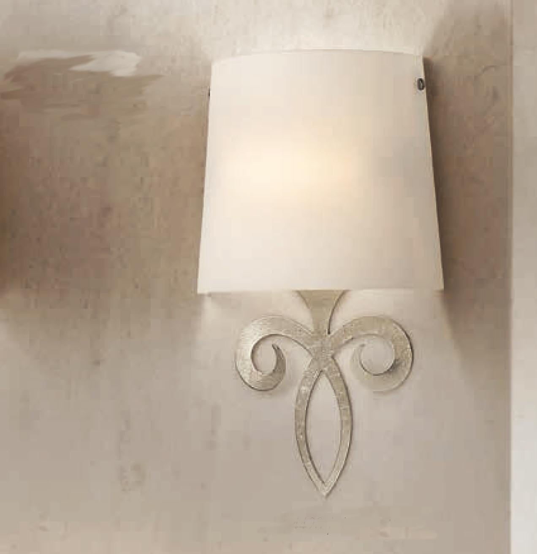 Lam via dese applique 4420 1a foglia argento - Applique da parete classiche ...