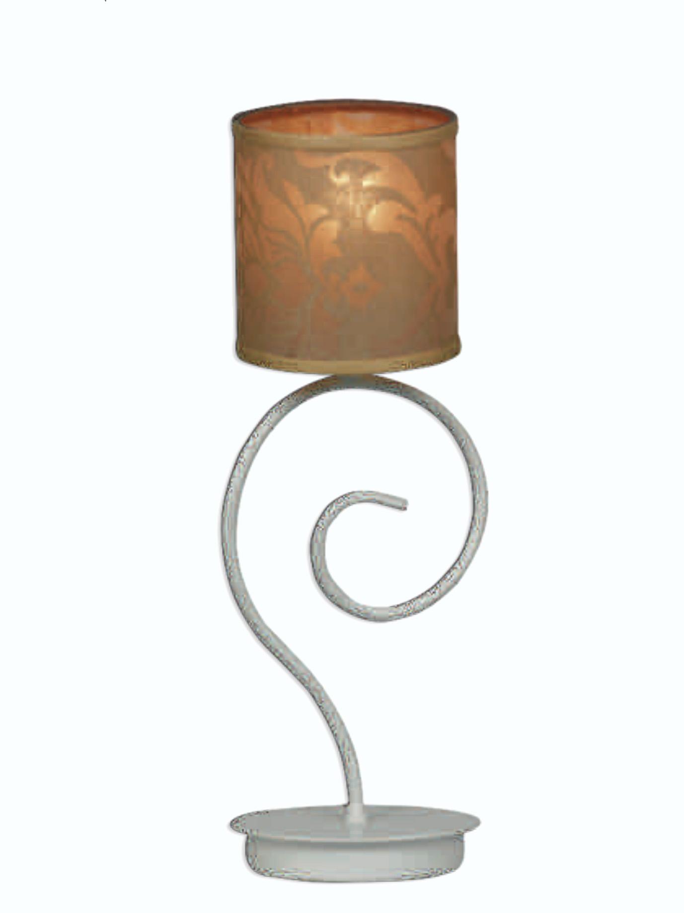 Notali Lampada Da Tavolo Shabby Chic Lp Colore Bianco