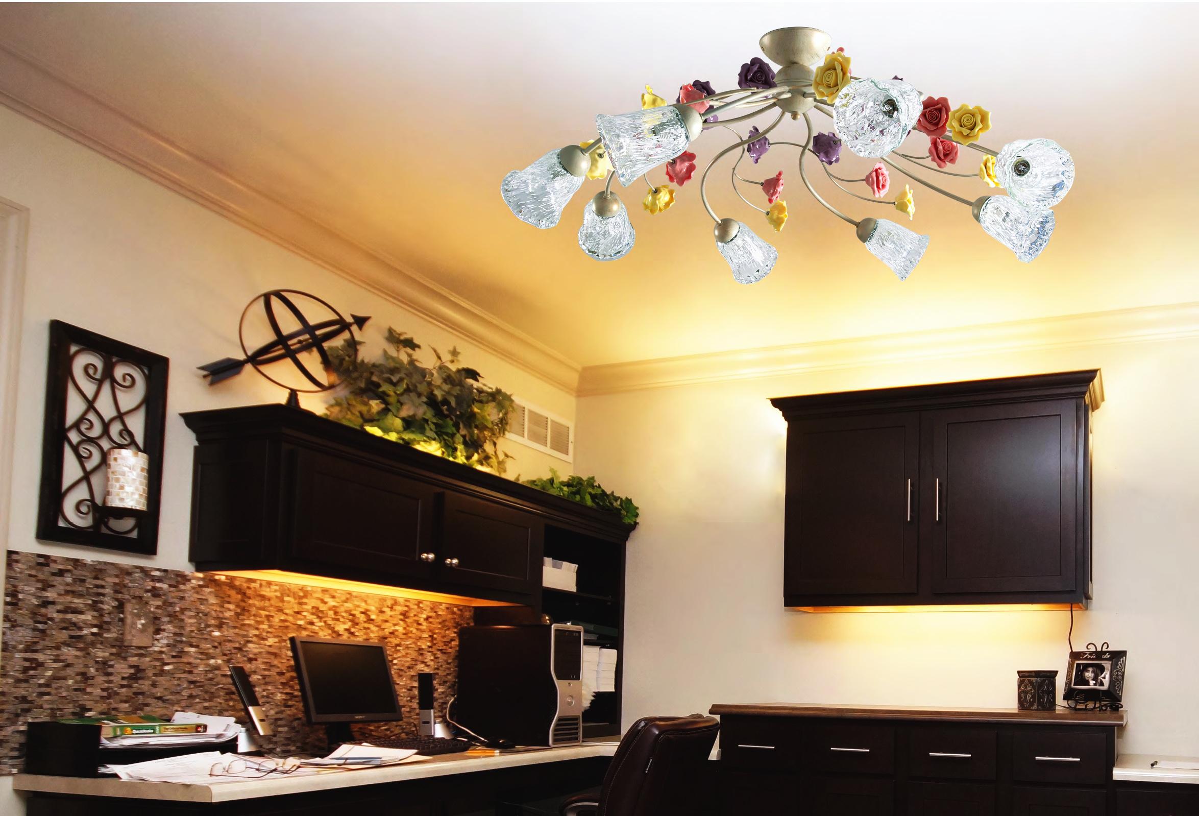 Plafoniere Da Soffitto Verde : Lampade da parete