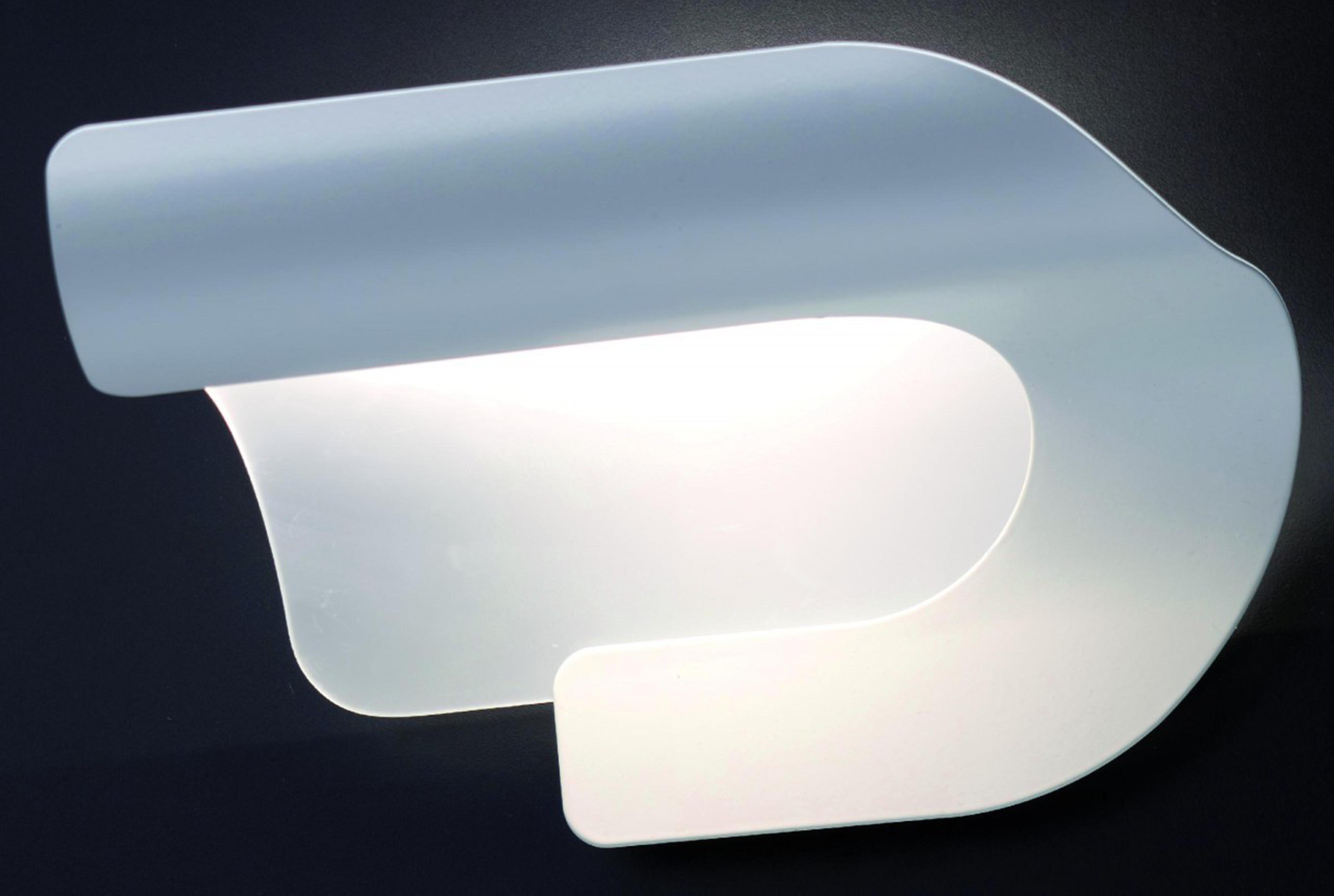 Lampadario Bianco Opaco : Sikrea lampada da parete syrio led colore bianco opaco