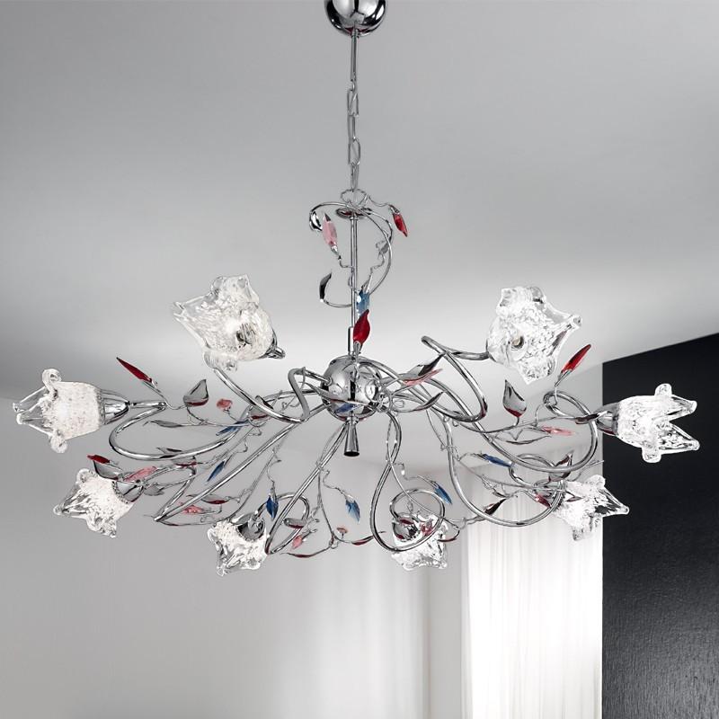 Duep Illuminazione Lampadario ADELE-S8 - Vendita lampadari online