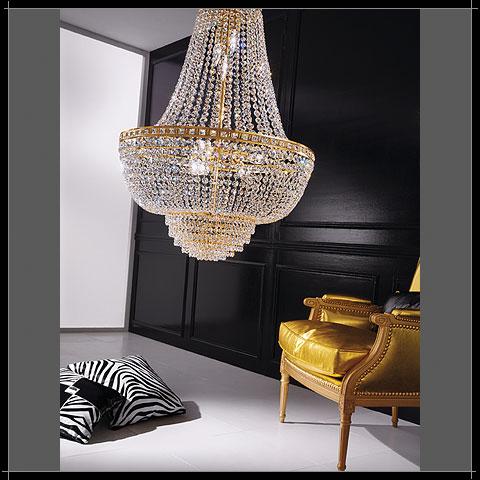 lampadari voltolina : VOLTOLINA Impero AMSTERDAM - Notali Vendita lampadari online