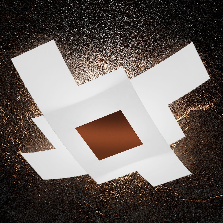 Camerette Ultramoderne : Top light illuminazione plafoniera parete tetris color