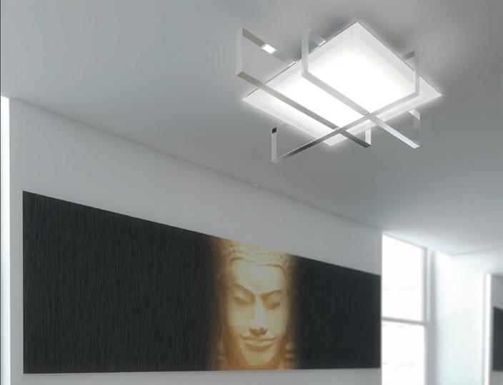 Top light illuminazione lampada da parete plafoniera cross
