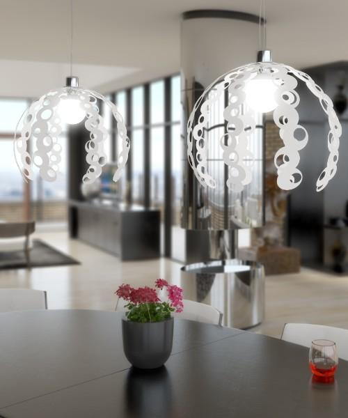 Top light illuminazione sospensione chain 1118 s - Lampadari per camere da letto ...