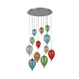 Ideal Lux Lampada a Plafoniera CLOWN SP12 Color - Vendita lampadari online