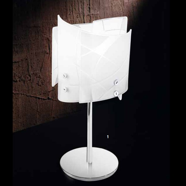 Gea luce lampada da tavolo sofia l for Luce da tavolo