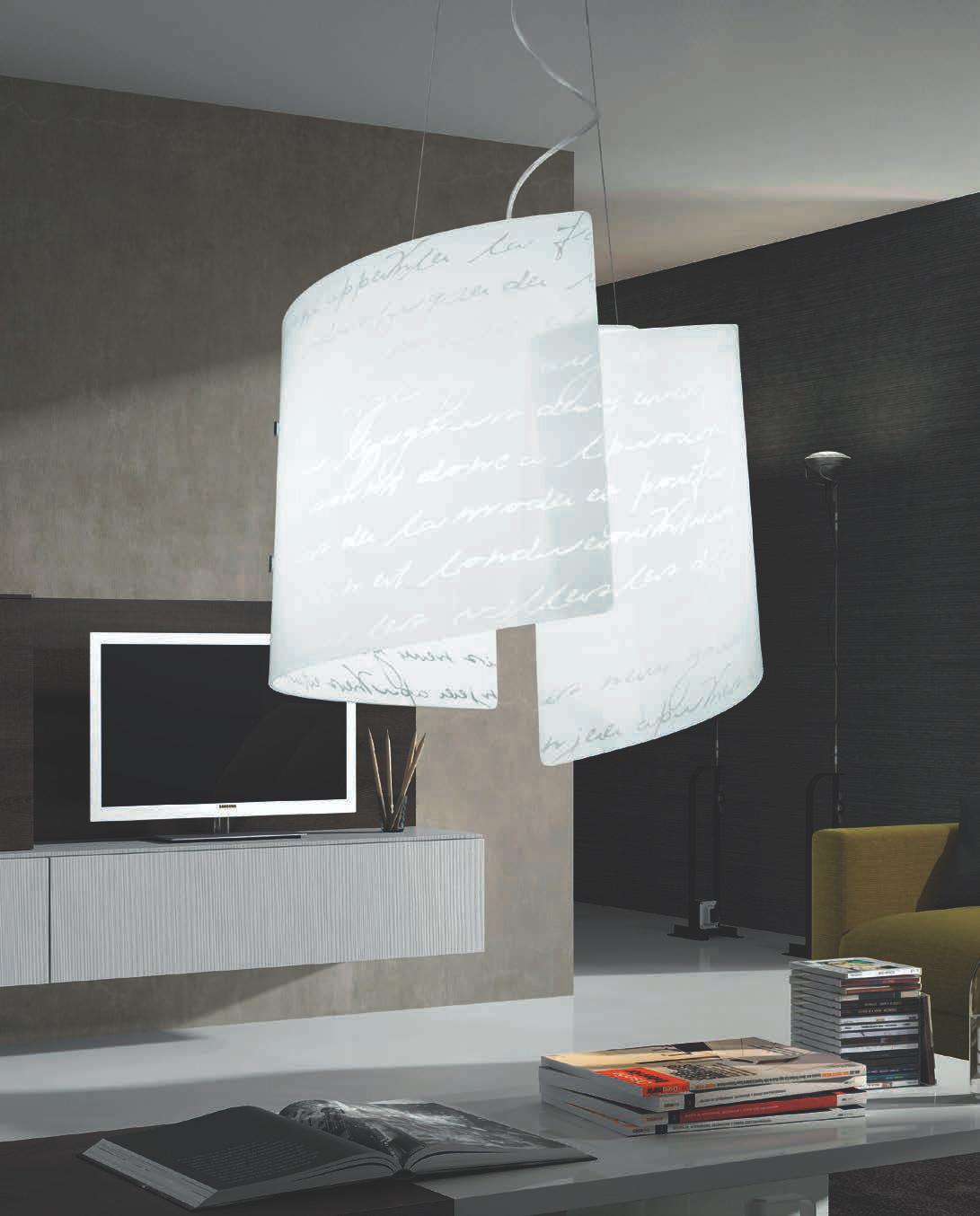 Lam lampada a sospensione ariel gd 0114 2s for Camera da letto luci