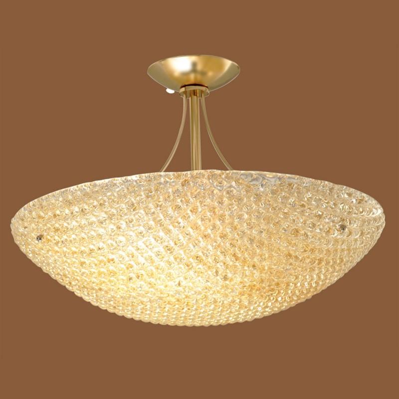 Padana lampadari lampada da soffitto tea 377 cc ambra for Lampadari soffitto