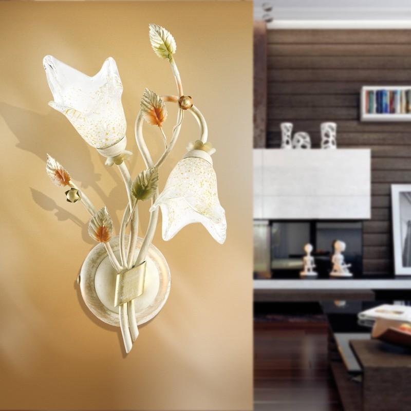 Padana lampadari lampada da parete agata 371 a2 - Lampadari bagno classico ...