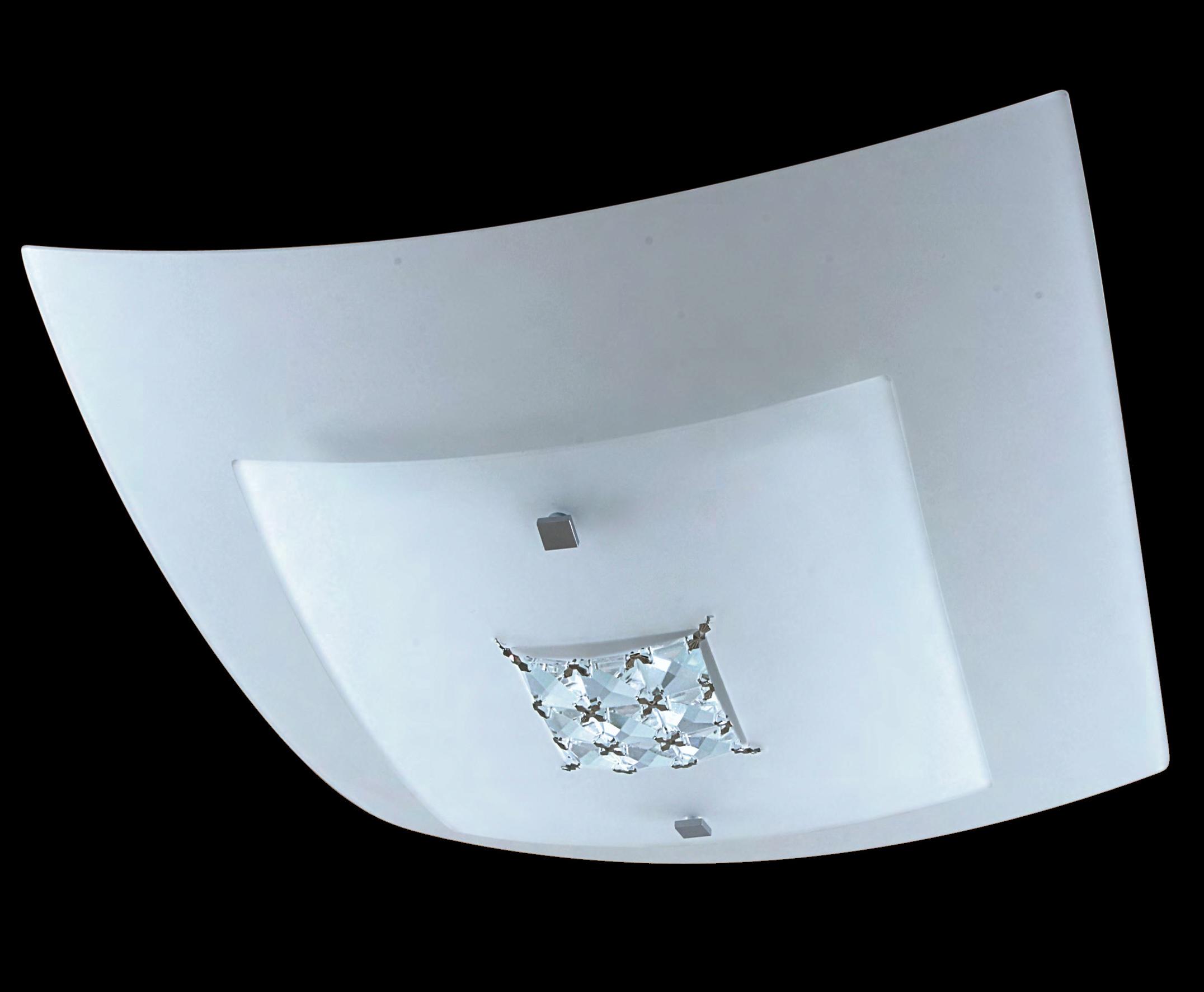 Plafoniere Da Soffitto In Cristallo : Padana lampadari lampada da soffitto pony cristallo