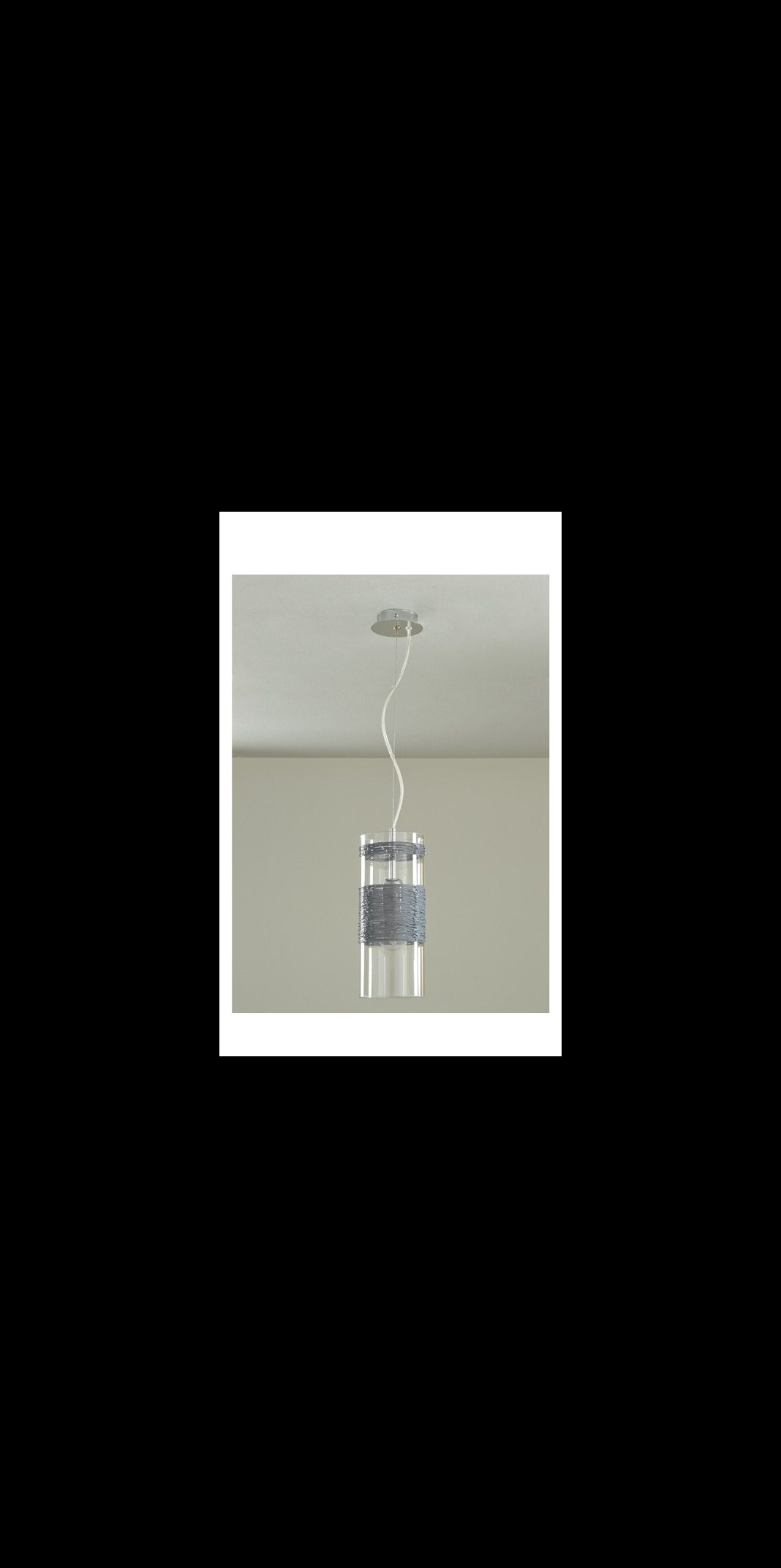 Padana Lampadari Lampada a sospensione ZEN 1008 - Colore grigio